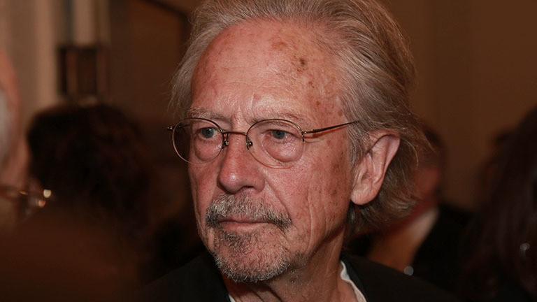 Der österreichische Schriftsteller Peter Handke.