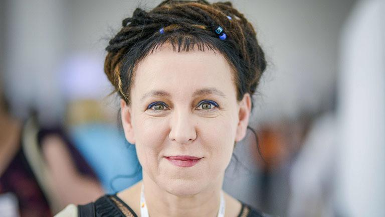 Die polnische Schriftstellerin Olga Tokarczuk.