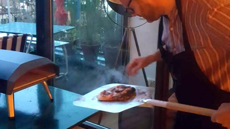 Christian Schmitt Mini-Pizzaofen