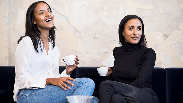 Sara Nuru und ihre Schwester Sali