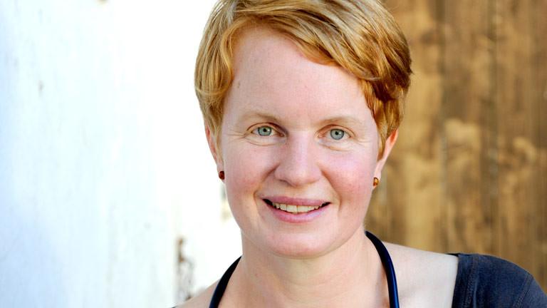 Tierärztin Astrid Brandl