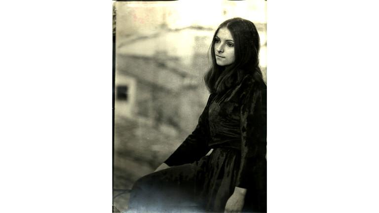 Christel Brumann als junge Frau