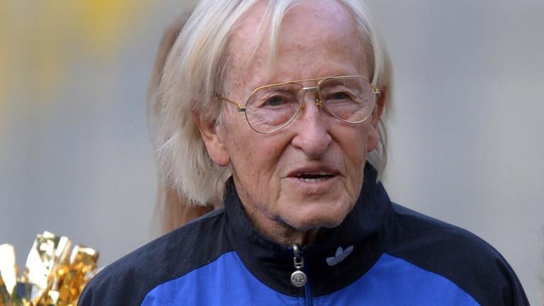 Portrait von Rudi Gutendorf im Jahr 2013.