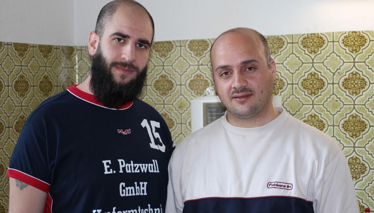 Youssef und Alaa, syrische Flüchtlinge