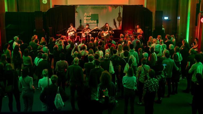 Konzert mit Rikas im Berliner Funkhaus von Deutschlandradio