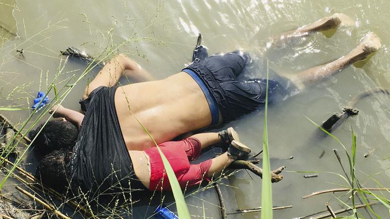Bild von toten Migranten geht um die Welt