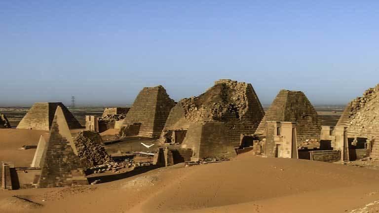 Hoffnung auf Devisen: Sudan wirbt mit Pyramiden um Touris