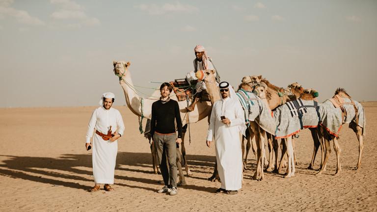 Eine Reise in die Wüste gehörte zu Christoph Orths Trip dazu.