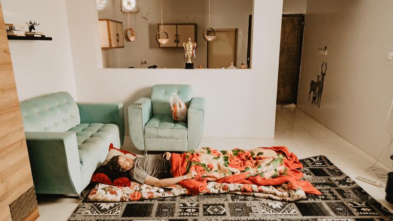 Stephan Orth hat Saudi-Arabien als Couchsurfer entdeckt.