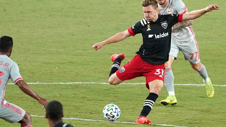 Der Mittelfeldspieler Julian Gressel von DC United.