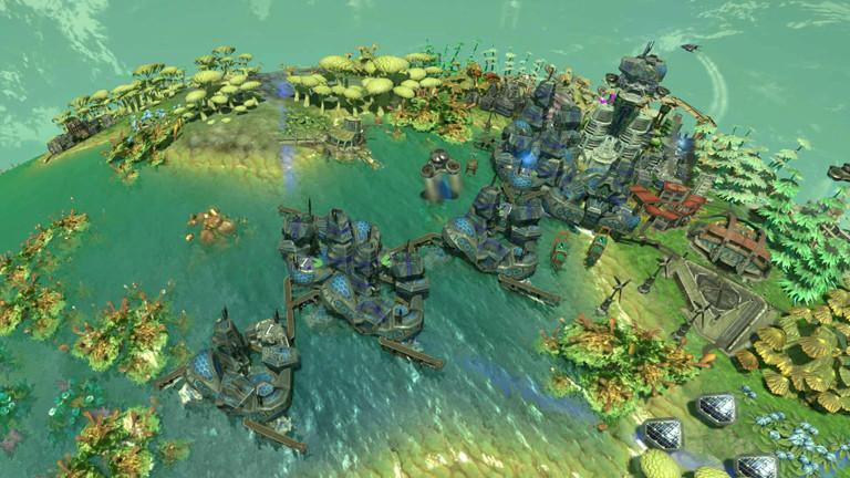 """Eine Szene aus dem Computerspiel """"Imagine Earth""""."""