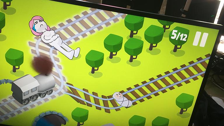Screenshot des Indie-Games Choo Choose
