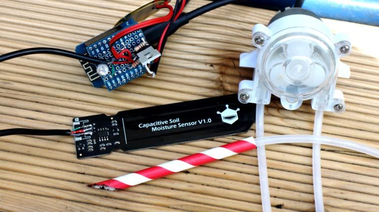 WLAN-fähiger ESP8266-Mikrocontroller