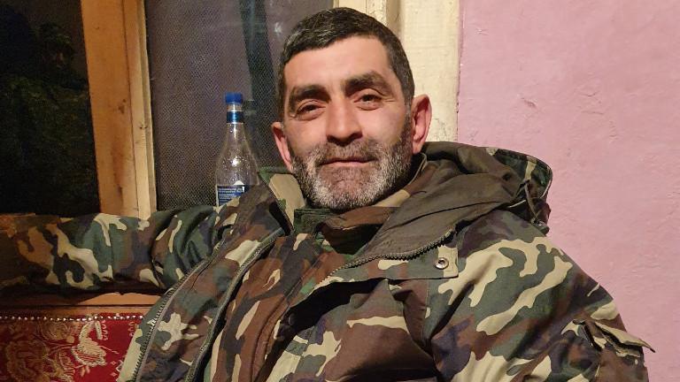 Ashot Sewjan, Armenier in Bergkarabach