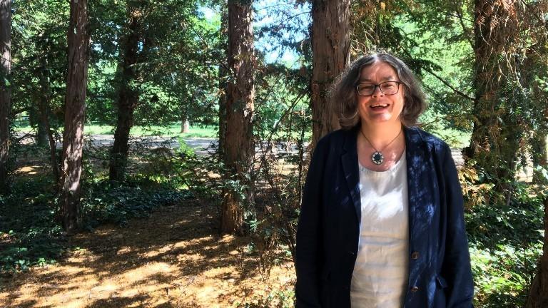 Ein Porträt der Umweltbürgermeisterin Dresdens, Eva Jähnigen
