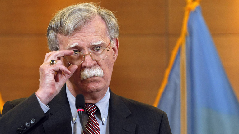 Ehemaliger Sicherheitsberater John Bolton heizt Verfahren an
