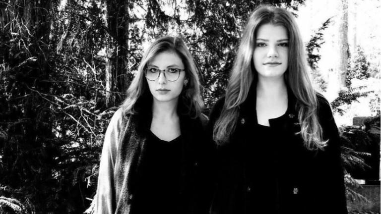 Die Schwestern Clara (r.) und Katharina Lonitz (l.).