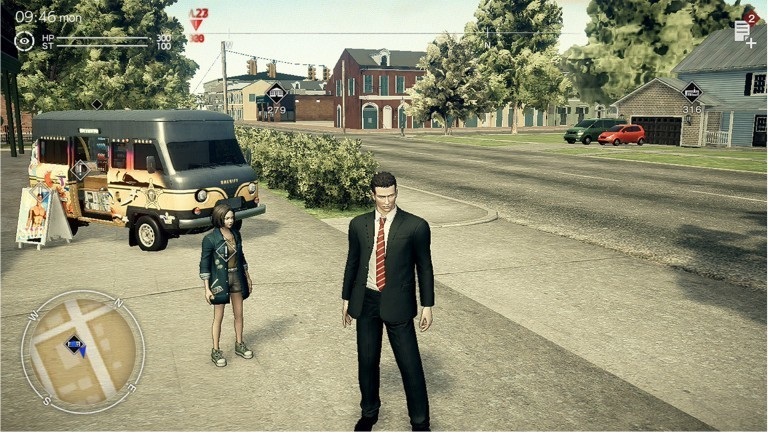 "Screenshot aus dem Game ""Deadly Premonition 2"""