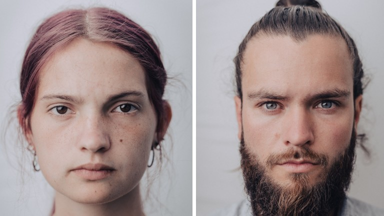 Die Aktivist*innen Mephisto (l.) und Jakob (r.) gingen fürs Klima in den Hungerstreik.