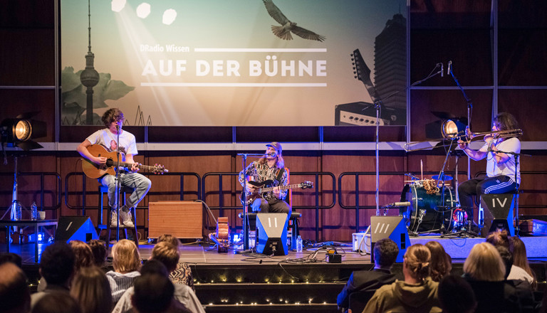 """DRadio Wissen """"Auf der Bühne"""" (26.03.2017)"""