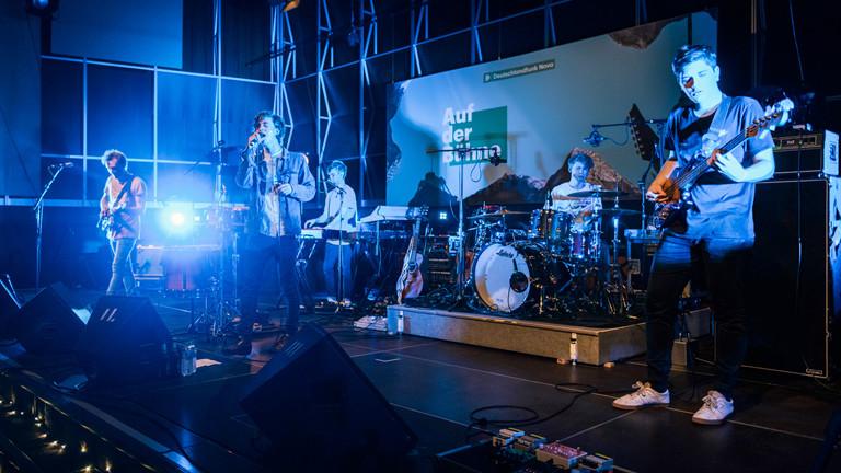 """""""Auf der Bühne"""" am 15.10.20147 mit Bergfilm und Giant Rooks"""