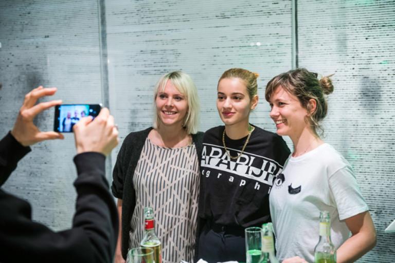 """""""Auf der Bühne"""" am 28.01.2018 mit Mavi Phoenix, Leyya und Yukno"""