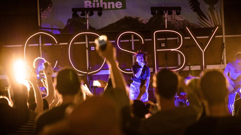 """""""Auf der Bühne"""" am 22.04.2018 mit Joco und Cosby"""