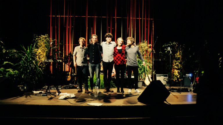 L'aupaire auf der Bühne des Kammermusiksaals