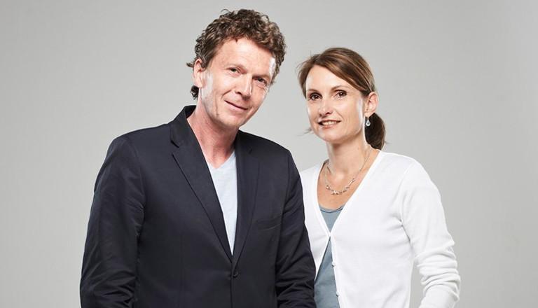 Alexander Osang und seine Frau Anja Reich