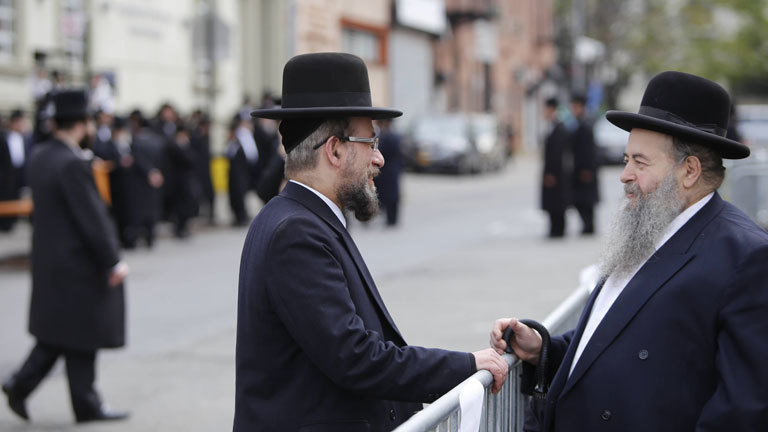 Satmarer Chassidim in New York