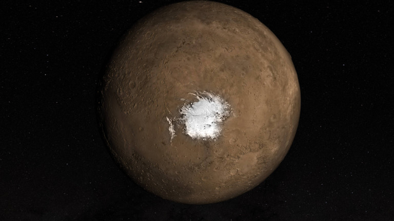 Mars: Flüssiges Salzwasser auf dem Radar