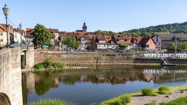 Blick auf Witzenhausen in Nordhessen