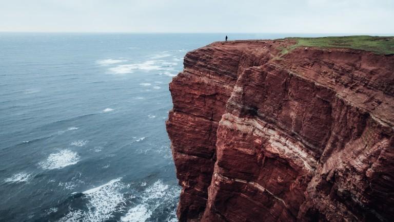 Max Fischer Landschaftsfotograf Deutschland  Rote Klippen auf Helgoland