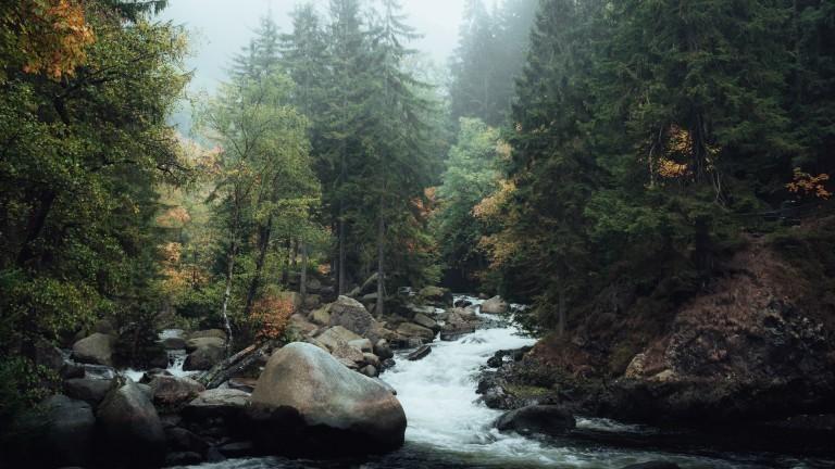Max Fischer Landschaftsfotograf Deutschland Wilde Wasser im Okertal