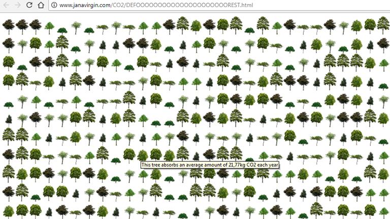 Screenshot Deforest