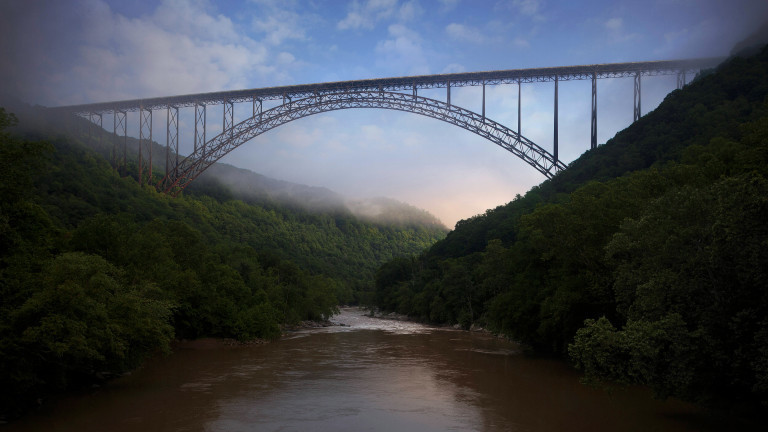 New River Gorge Bridge, Fayetteville County, West Virginia, 2016