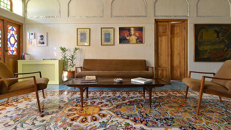 Wohnzimmer im Iran