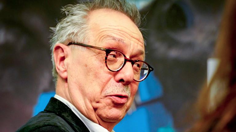 Dieter Kosslik bei der Berlinale-Presskonferenz 2019