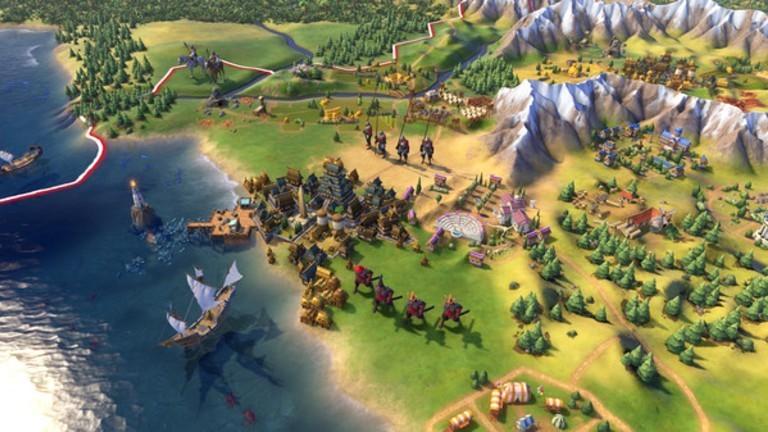 """Ein Screenshot aus dem Game """"Civilization"""""""