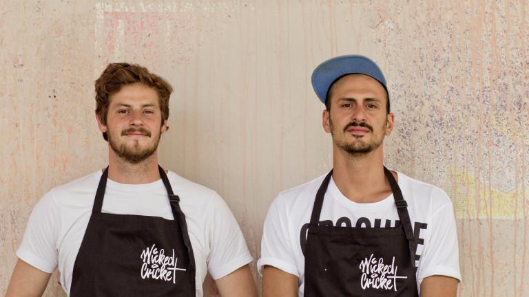 Wicked-Cricket-Gründer Mathias Rasch und Josef Hirte