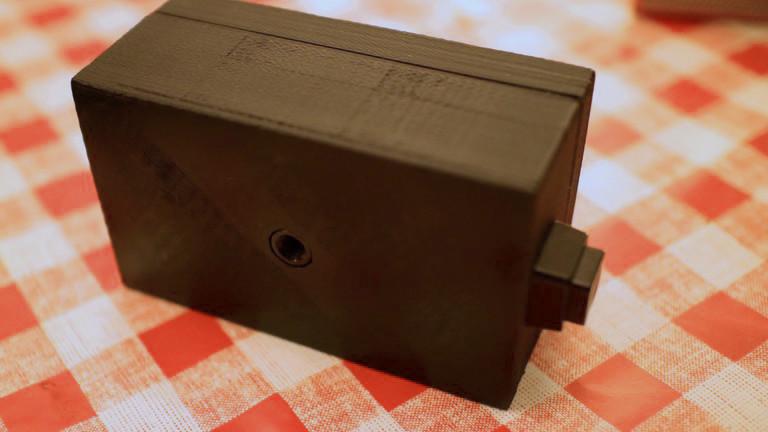 Ein selbst entworfenes und selbst gedrucktes Wärmebildkameragehäuse