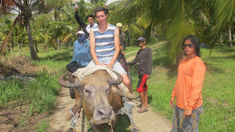 Christoph Diekhans auf den Philippinen