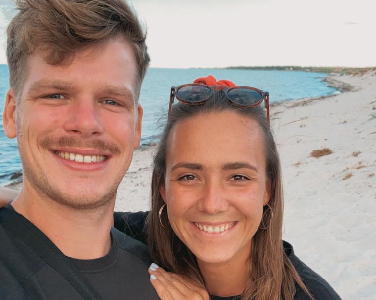 Kai und Nicola auf Bali.