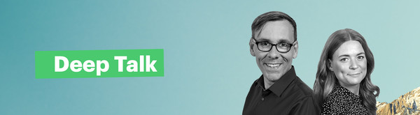 Das Moderations-Team von Deep Talk: Sven Preger (links) und Rahel Klein