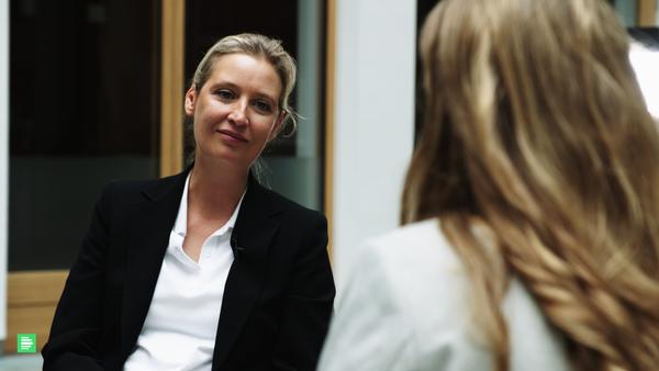 Alice Weidel (AfD) im Interview