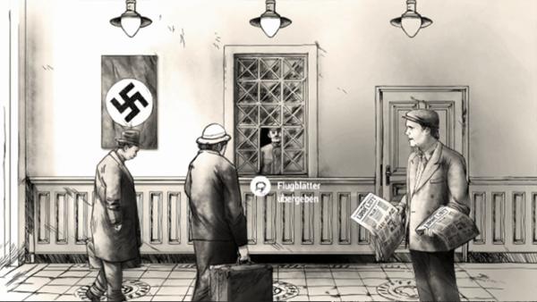 "Screenshot aus dem Computerspiel ""Attentat1942.com"""