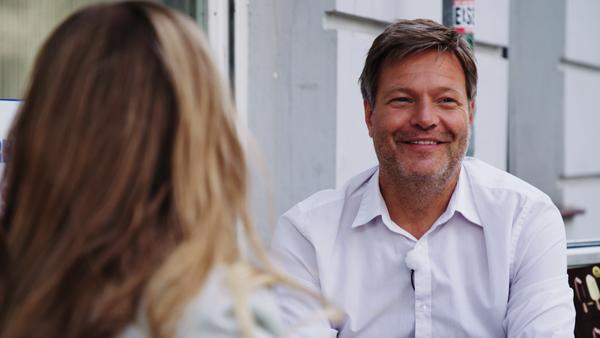 Robert Habeck (Die Grünen) im Interview