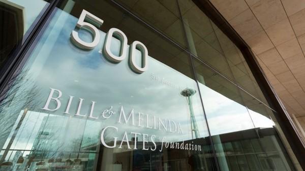 Eingang von Bill und Melinda Gates Foundation