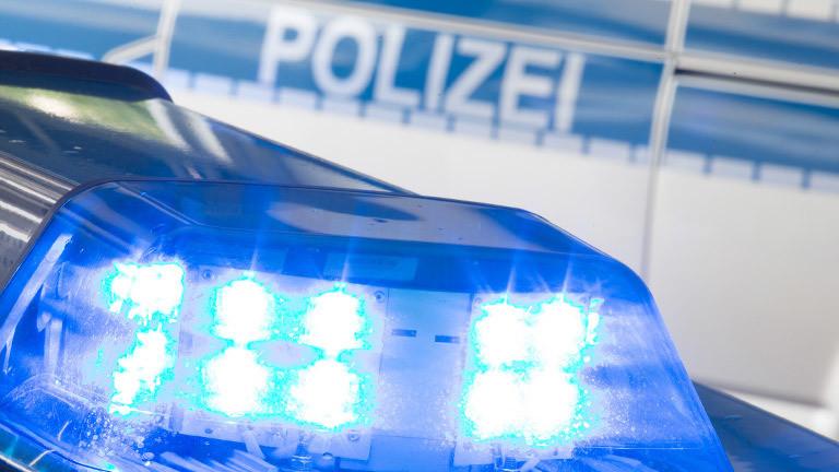Blaulicht und Polizeiauto