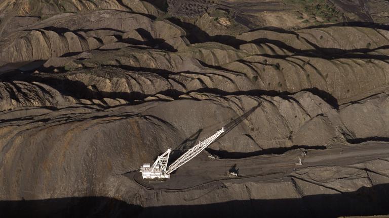 Kohlebergwerk Blackwater in Queensland Australien